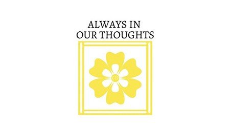 Always In Our Thoughts